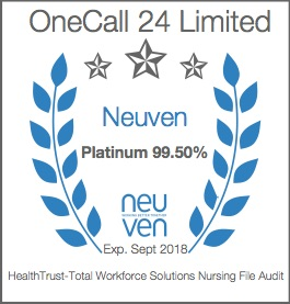 OneCall 24 TWS Platinum Badge