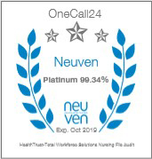 Onecall24 Badge 2018
